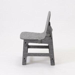 【日本製】RK-Chairアール・ケーチェア組み立てキッズチェアfeelt硬質フェルト材フェルト製のかわいいキッズチェア軽くて安全床をほぼ傷つけません軽くて丈夫世界的に人気のフェルト素材国産楽々移動