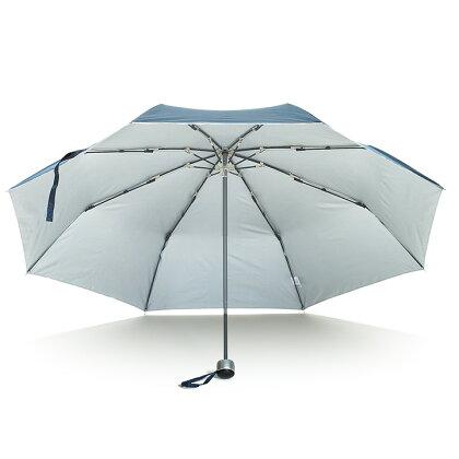 【waterfront】折りたたみ傘大きい65cm遮光遮熱晴雨兼用傘FRP骨の丈夫な傘プレミアムストロングアーミーウォーターフロントシューズセレクション