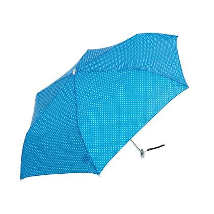 【waterfront】折りたたみ傘軽量165g傘薄型50cmポケフラットミニドットウォーターフロントシューズセレクション