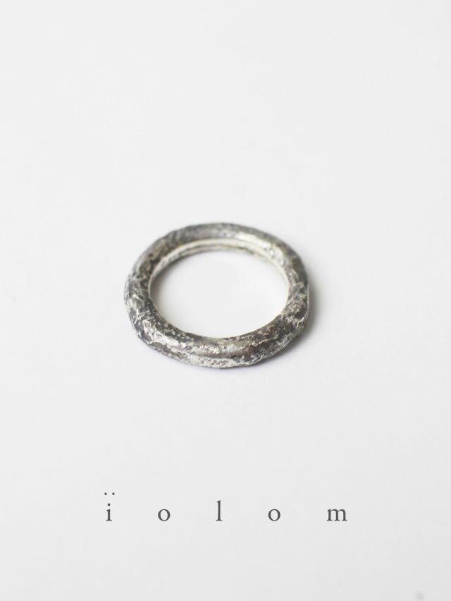 男女兼用アクセサリー, 指輪・リング iolom - MELT RING - io-01-021 : Ag950
