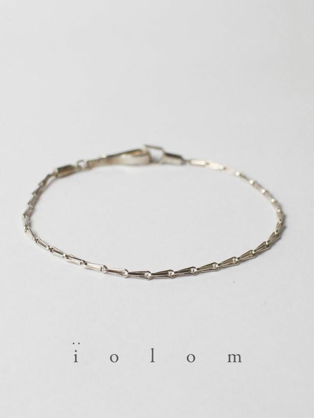 男女兼用アクセサリー, ブレスレット iolom - Silver Bracelet TYPE C