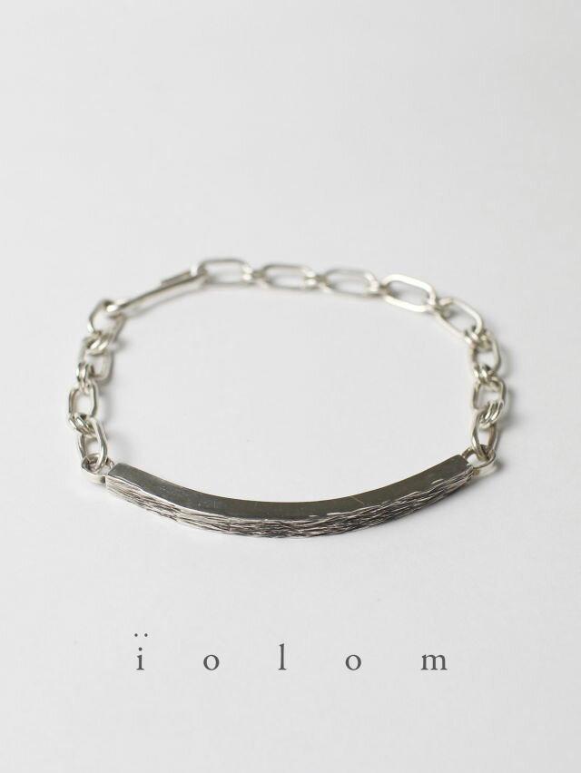 男女兼用アクセサリー, ブレスレット iolom - Silver Bracelet io-02-120