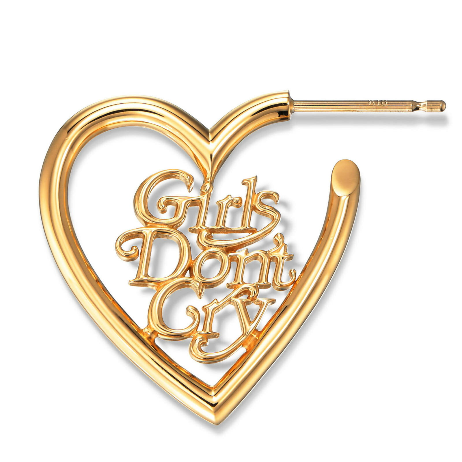 レディースジュエリー・アクセサリー, ピアス CAREERING GIRLS DONT CRY - GDC002 - GOLD