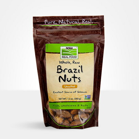 ナウフーズブラジルナッツ(無塩)340g【NowFoods】BrazilNuts,Whole,Raw,Unsalted12oz