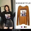KONGSTYLE(コンスタイル)LONDON GIRLTシャツ【9/...