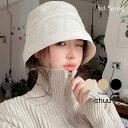 CHUU(チュー)コットンバケットハット【2/14up_mo】韓国 韓国ファッション ハット 帽子 バケットハット レディース ファッション【7】※メール便不可