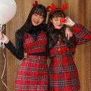SONYUNARA(ソニョナラ)PARTY RED/チェック...