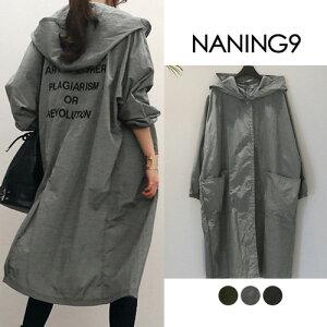 ナンニング ジャンパー ブラック アウター ポケット レディース ファッション
