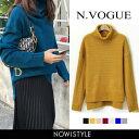 N.Vogue(エヌヴォーグ)リブポイントセーター【10/29up_m...