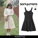 SONYUNARA(ソニョナラ)ボタンフレアワンピース【4/13up_...