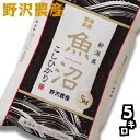 令和元年産 白米5kg 新潟県魚沼産コシヒカリ 特A 精米 送料無料(沖縄を除く)