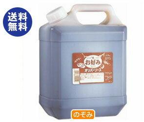 【送料無料】オリバーソース 甘口お好みソース 4.8kg×3個入 ※北海道・沖縄は別途送料が必要。