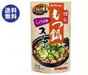 【送料無料】ダイショー 博多もつ鍋スープ しょうゆ味 750g×10袋入 ※北海道・沖縄は別途送料が必要。