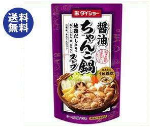 【送料無料】ダイショー ちゃんこ鍋スープ 醤油味 750g×10袋入 ※北海道・沖縄は別途送料が必要。