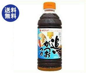 【送料無料】ミツカン 追いがつお つゆストレート 500mlペットボトル×12本入 ※北海道・沖縄は別途送料が必要。