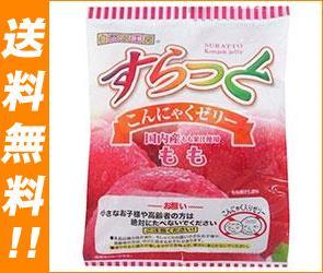 【送料無料】【2ケースセット】富士正食品 すらっとこんにゃくゼリー もも 23g×8個×20袋入×(2ケース) ※北海道・沖縄は別途送料が必要。