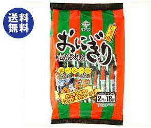 【送料無料】マスヤ おにぎりせんべい ファミリーパック 2枚×16袋×10袋入 ※北海道・沖縄は別途送料が必要。