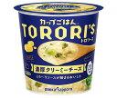 送料無料 ポッカサッポロ カップごはん トロリーズ 濃厚クリーミーチーズカップ入り 56.1g×24個入 ※北海道・沖縄は配送不可。