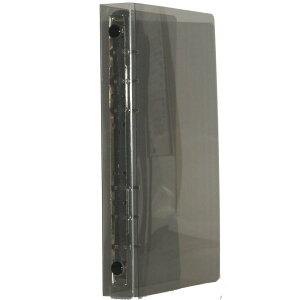 バイブル6穴 保存バインダーR-15 スモーク-ブラック HB-2008-SM