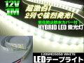 12V/船舶・漁船用/カバー付LEDテープライト蛍光灯・航海灯/1M/