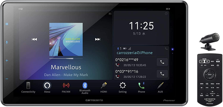 カーオーディオ, プレーヤー・レシーバー  DMH-SF700 9 Amazon Alexa AppleCarPlay AndroidAuto8482; 1DIN BluetoothUSB