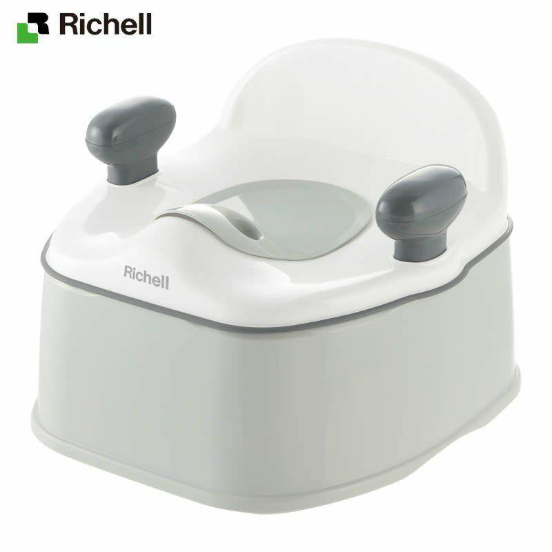 リッチェル/Richell ポッティス イス型おまるK ホワイト (W)
