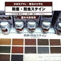 木材保護塗料【防腐・防虫】ナフタデコール【油性・着色】■4L