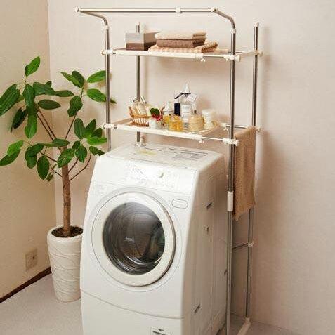 【後払も可】セキスイ ステンレス洗濯機ラック SSR-40 (部屋干し専用)【代引き不可・北海道・沖縄・離島送料別途】a1b