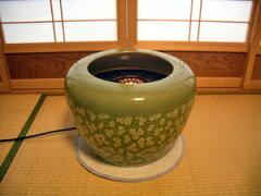 電気火鉢(緑)