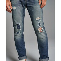 【送料無料】【新品】アバクロ【Mensメンズ】デストロイドスキニージーンズ/DestroyedMediumWash【Color:279】【SkinnyJeans】【デニム】【Abercrombie&Fitch】【本物保証】【あす楽対応】