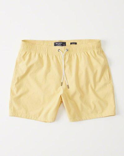 アバクロライナー付きスイムパンツ(水着)/Yellow【Classic Tru...