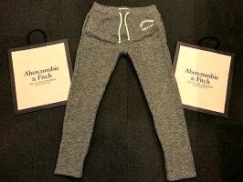 【新品】アバクロ【Mensメンズ】グラフィックスエットパンツ/HeatherGrey【ClassicFleeceSweatpants】【Abercrombie&Fitch】【本物保証】