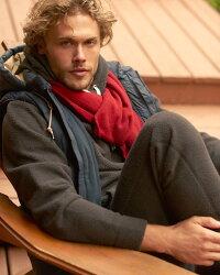 【新品】アバクロ【Mens】ニットマフラー/Red【CozyKnitScarf】【Abercrombie&Fitch】【本物保証】【レディース】【男女兼用】