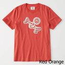 【新品】アバクロ【Mensメンズ】ロゴグラフィックTシャツ(半袖)Red【Varsity Logo Tee】【Graphic Tees】【Abercrombie&Fitch】【本物保証】