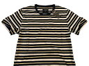 Abercrombie&Fitch (アバクロンビー&フィッチ) クルーネック ボーダー Tシャツ (Striped Crew Tee) メンズ (Grey and Navy Stripe) 新品