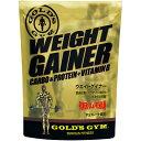 GOLD'S GYM(ゴールドジム) ウエイトゲイナー <チョコレート風味> 1kg 830012