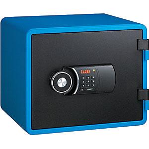 【据付設置費無料】EIKO(エーコー)耐火金庫<テンキー>YES(イエス・カラーセーフ)ブルー YESM-020BL 800042
