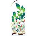 NTS Store 楽天市場店で買える「宮本 気音間(kenema<手ぬぐい> 春の七草籠(はるのななくさかご) 51526 515261」の画像です。価格は1,296円になります。