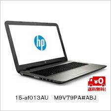 ★単品限定購入商品★【送料無料】HP 15.6インチワイド・HDブライトビューディスプレイ ノートパソコン 15-af013AU M9V79PA#ABJ