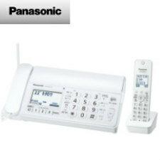 【送料無料】パナソニック デジタルコードレス普通紙ファクス(子機1台付き)(ホワイト)KX-PD205DL-W