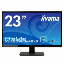 (単品限定購入商品)【送料無料】iiyama 23型ワイド液晶ディスプレイ ProLite XU2390HS-3 (LED、AH-IPS) マーベルブラック XU2390HS-B3