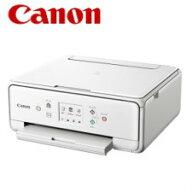 【送料無料】キャノンA4インクジェット複合機PIXUSTS6130ホワイト2431C021