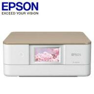 エプソンA4インクジェットプリンター/カラリオ/多機能モデル/6色染料/有線・無線LAN/Wi-FiDirect/両面/4.3型ワイドタッチパネル/ニュートラルベージュEP-880AN