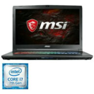 MSI17.3型フルHD(1920×1080)ノートパソコン(Corei7-7700HQ/GTX1050Ti/DDR4-24008GBx1/SSD128GB/HDD1TB/DVD-SM)GP72-7REX-636JP