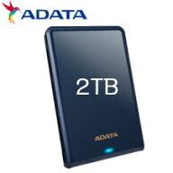 ADATAHV620S2.5インチUSB3.1ポータブルHDD2TBブルーAHV620S-2TU31-CBL