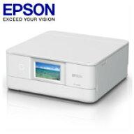 【送料無料】エプソンA4インクジェットプリンター/カラリオ/多機能/6色/有線・無線LAN/Wi-FiDirect/両面/4.3型ワイドタッチパネル/ホワイトEP-881AW