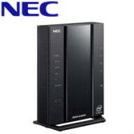 【送料無料】NEC無線LAN親機WiFi6(11ax)対応(2402+574Mbps/WiFiスループット約1580Mbps(最大)/IPv6IPoE対応/VPNパススルー機能)PA-WX3000HP