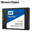 (単品限定購入商品)【送料無料】WESTERN DIGITAL WD Blue 3D NANDシリーズ SSD 1TB SATA 6Gb/s 2.5インチ 7mm cased 国内正規代理店品 WDS100T2B0A  0718037-856278・・・