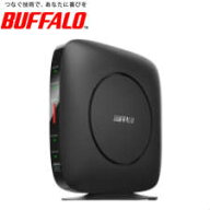 【送料無料】バッファロー無線LAN親機WiFiルーター11ax/ac/n/a/g/b2401+800MbpsWiFi6/Ipv6対応ブラックWSR-3200AX4S/DBK