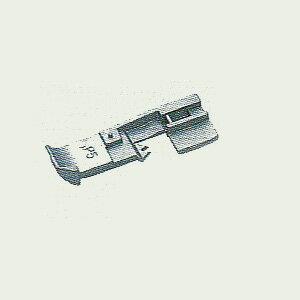 ベビーロック/衣縫人 糸取物語 共通 アタッチメント (パイピング押さえ 3mm用と5mm用 の2個) 【送料無料】